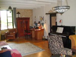 salon, piano-verschuiving